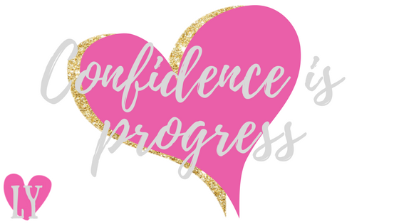 Confidence is progress