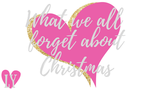 What we forget about Christmas